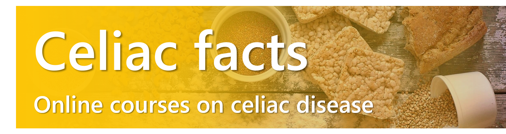 Celiac facts online courses on celiac disease