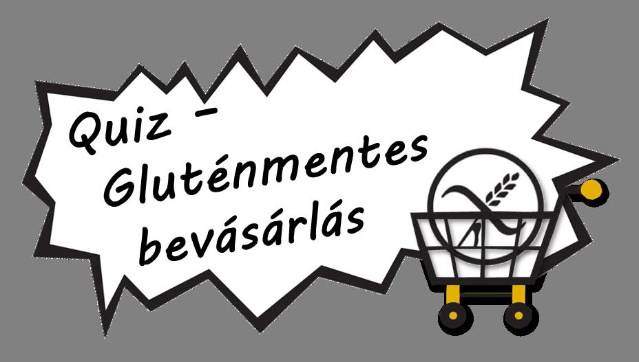 Quiz - Gluténmentes bevásárlás