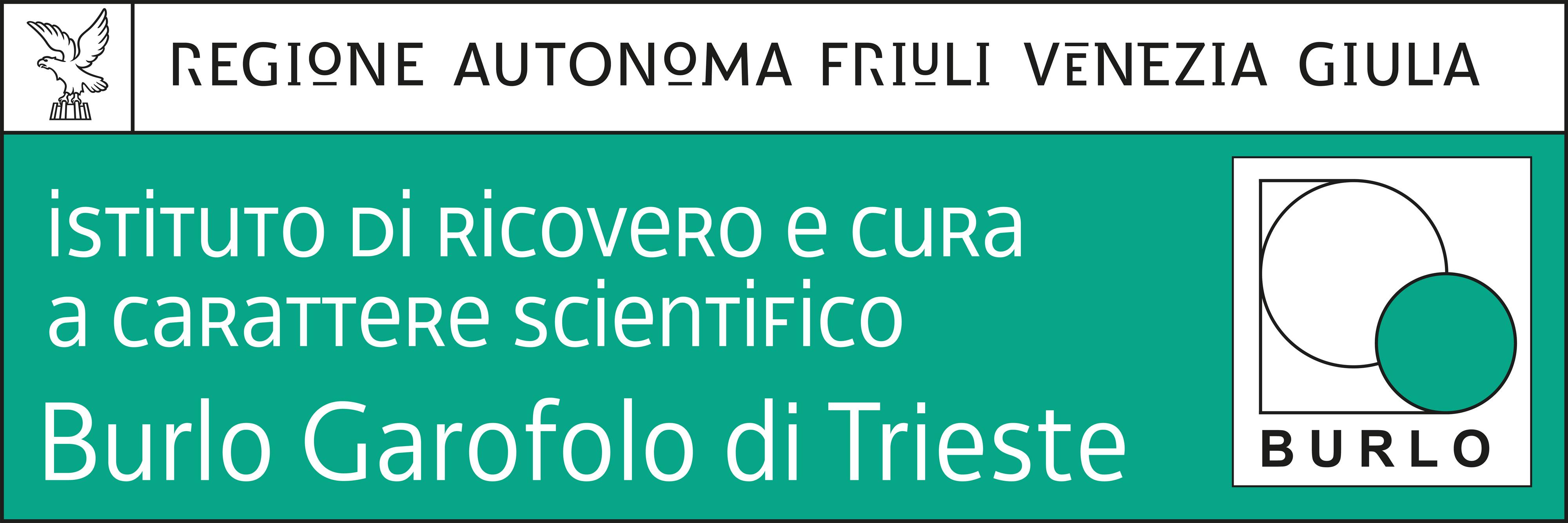 Logo Burlo Garofolo di Trieste