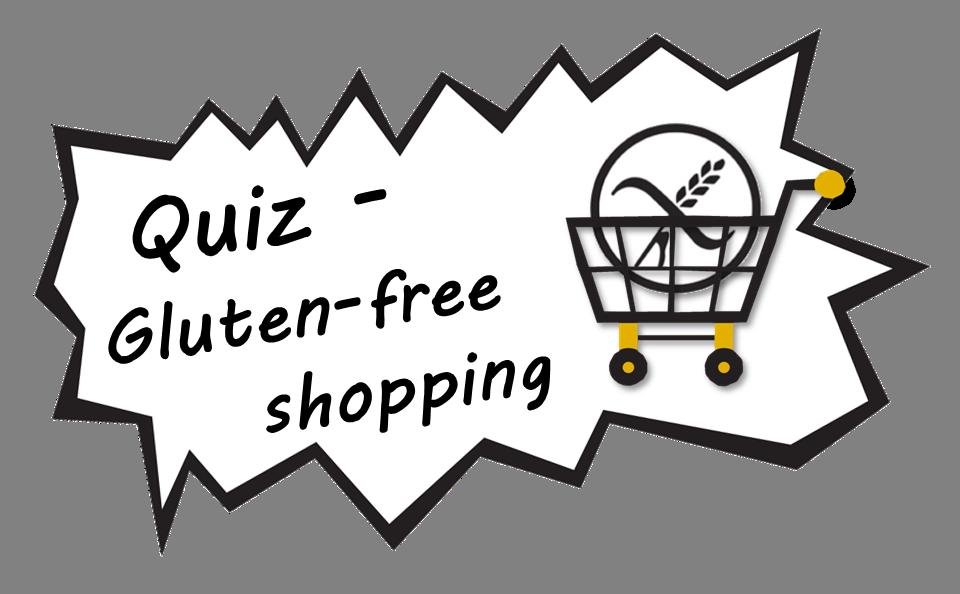 Quiz - Gluten-free Shopping